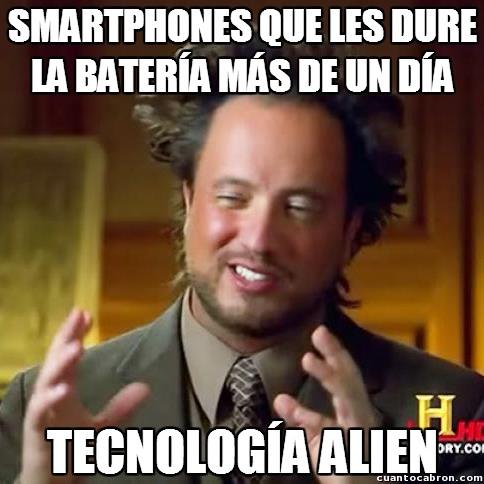 Smartphones aliens