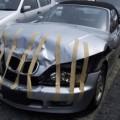 Como arreglar un golpe en un auto