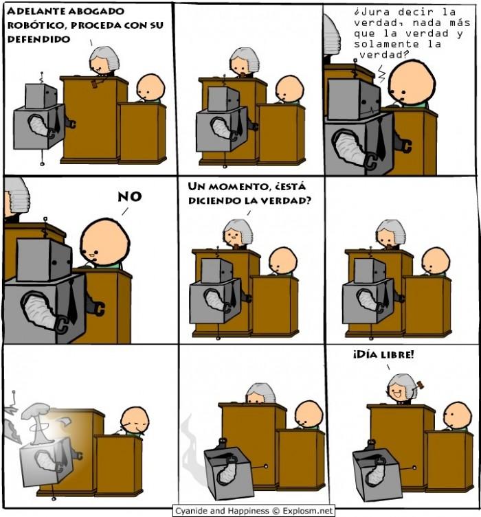 El abogado robot