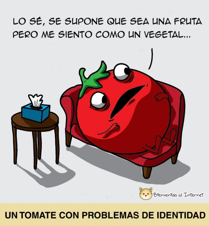 la vida de un tomate
