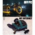 no sirve de nada tener un gran pc con un pesimo Internet