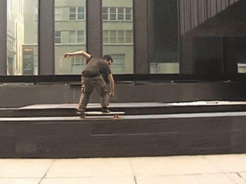un pesimo truco de Skate