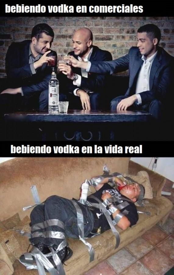 vida real vs publicidad