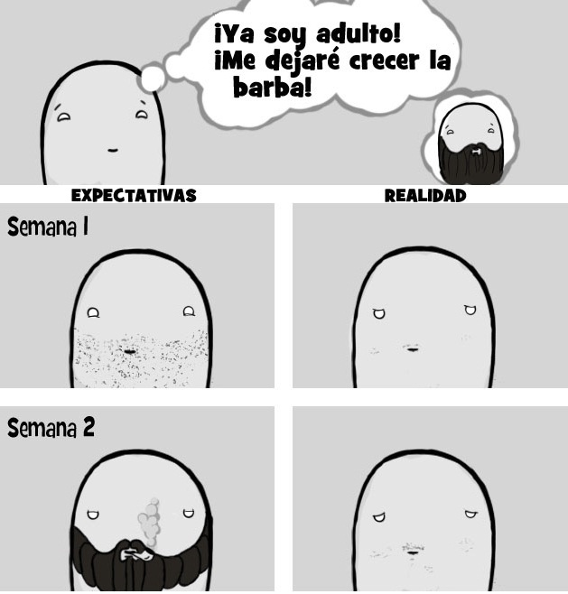 Como puedo hacer crecer la barba