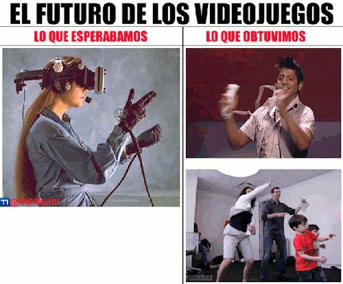 El futuro de los videojuegos