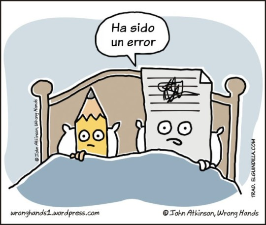 Ha sido un error