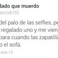 Los beneficios del palo de selfie