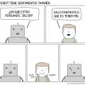 Los robot tambien tienen sentimientos