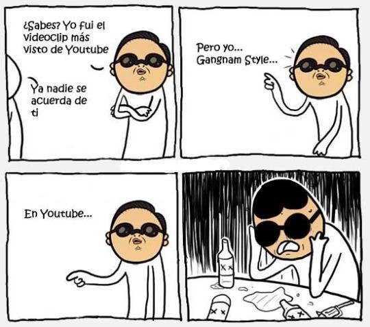Nadie se acuerda de gangnam style