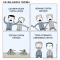 una guerra complicada