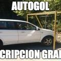 Autogol descripcion grafica