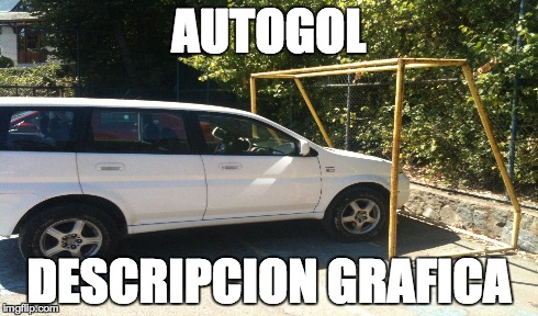 Autogol descripcion grafica