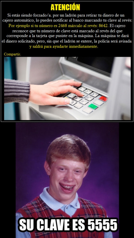 Como pedir ayuda por medio de un cajero autom tico for Como cobrar en un cajero automatico