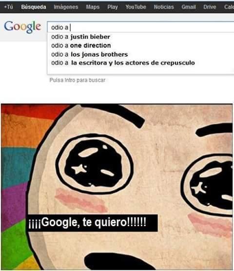 Creo que quiero a google