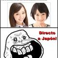 En Japon yo seria hermoso