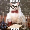 Eres como el oxido ferroso