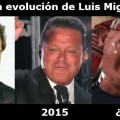 La evoluion de Luis Miguel