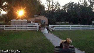 Llevando a la novia