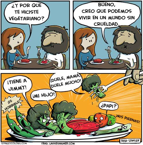 Lo vegetales tambien sienten dolor