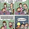 Nunca hay que reirse de las madres