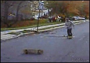 Truco doble de Skate