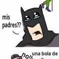 Batman es un heroe muy sensible