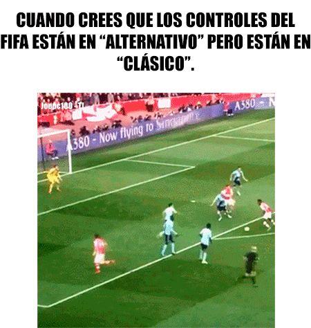 Controles en el FIFA