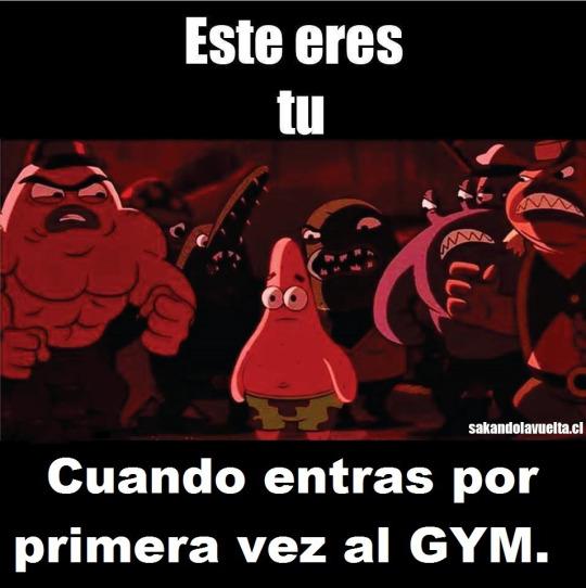 Entrando por primera vez a un gym