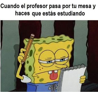 Haces que estas estudiando
