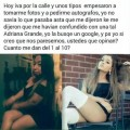 Identica a Ariana Grande