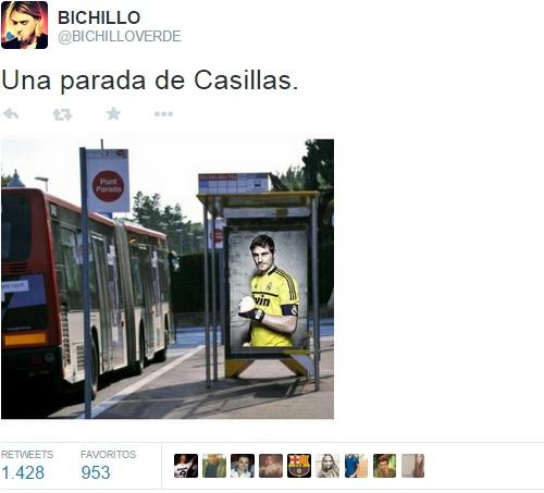 La mejor parada de Casillas