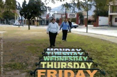 Los dias de la semana