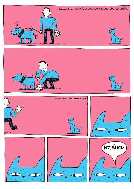 Porque los gatos odian a los humanos