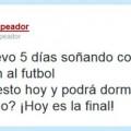 Sueño con futbol