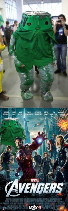 el mejor cosplay de hulk