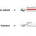 Conocimiento animal vs el humano