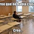 El unico en clases