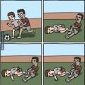 Jugadores de futbol moderno
