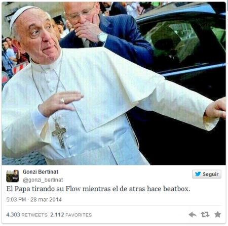 Los talentos del papa