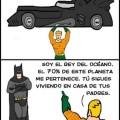 Porque aquaman es mejor que Superman y Batman