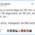 Trabajadores de microsoft