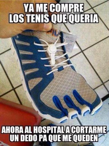Zapatillas inutiles
