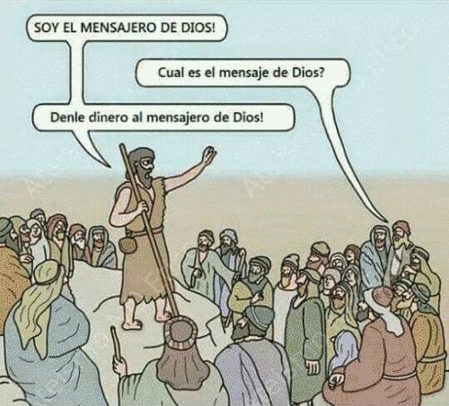 Cual es el mensaje de dios segun la iglesia