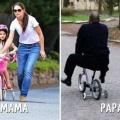 Diferencia entre la mama y el papa