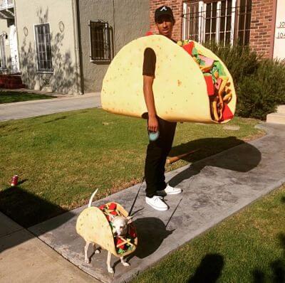 Disfrazes para perros y humanos