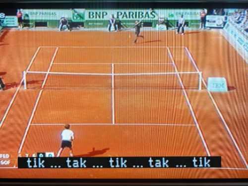 Mas inutil que subtitulos en un partido de tenis