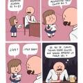 Padre analfabeto