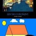 Dibujos hechos con paint