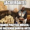 El daño a los artistas