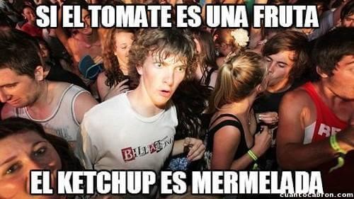 El ketchup es una mermelada
